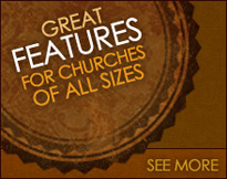 Church111 website features
